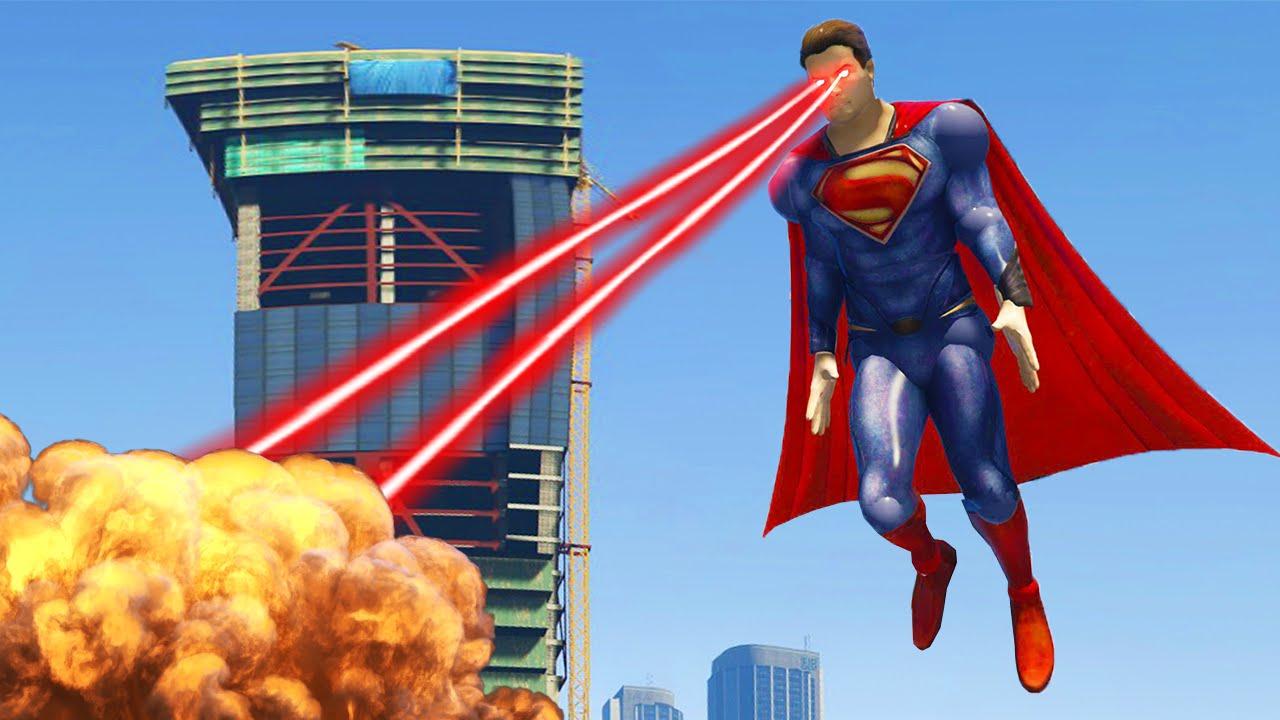 Superman Mod Gta 5 Youtube