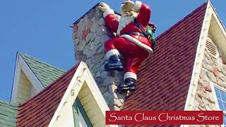 Searching for Santa Statues around Santa Claus, Indiana