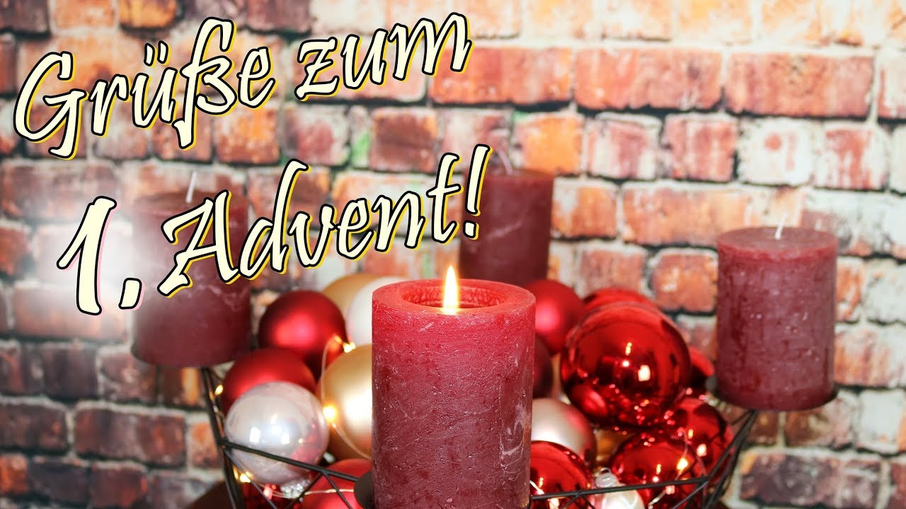 adventsgr e video zum 1 advent whatsapp w nsche frieden. Black Bedroom Furniture Sets. Home Design Ideas