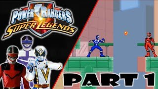 """Power Rangers Super Legends DS (NEW) 