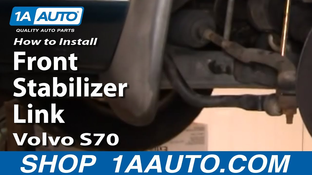 hight resolution of how to replace sway bar link 98 00 volvo s70