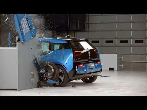 Проверка электромобилей Tesla и BMW I3! Краш тест!