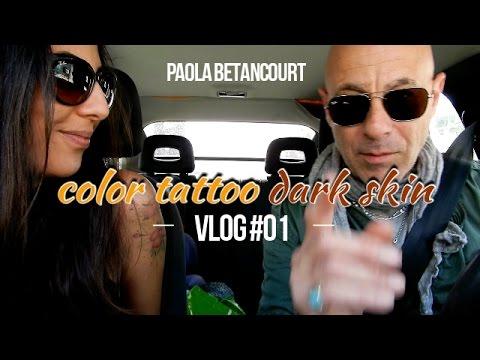 Vlog 01 Tatuaje Color En Piel Morena Terminado