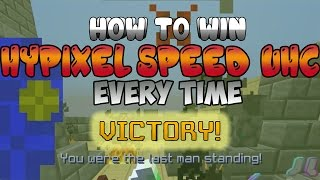 How To EASILY Win Hypixel Speed UHC EVERY TIME! | Simple Tutorial w/Ocuos | Hypixel PvP