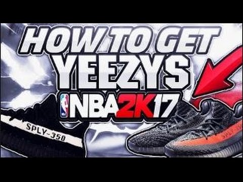 HOW TO MAKE YEEZYS IN NBA 2K17!!!