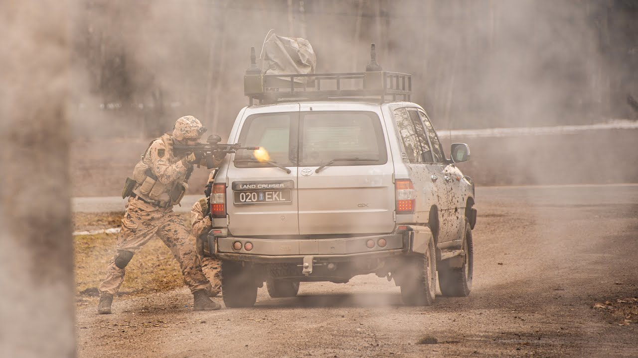Kaitseliidu ESTGUARD4 väekaitserühm valmistub Iraaki minekuks