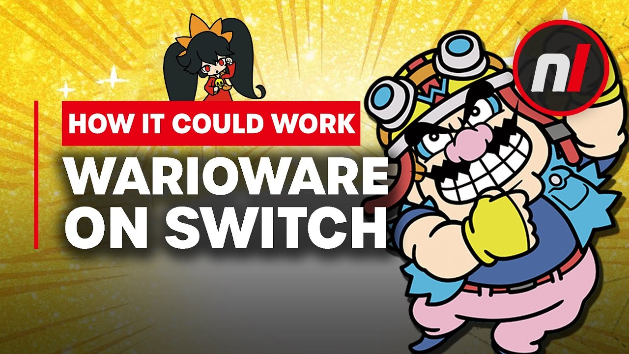 How WarioWare Could Work on Switch