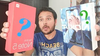Xiaomi Redmi Note 5 Pro (AI Dual) vs Nokia 6.1 Plus (X6) Comparison - Notch or No Notch ? [Hindi]