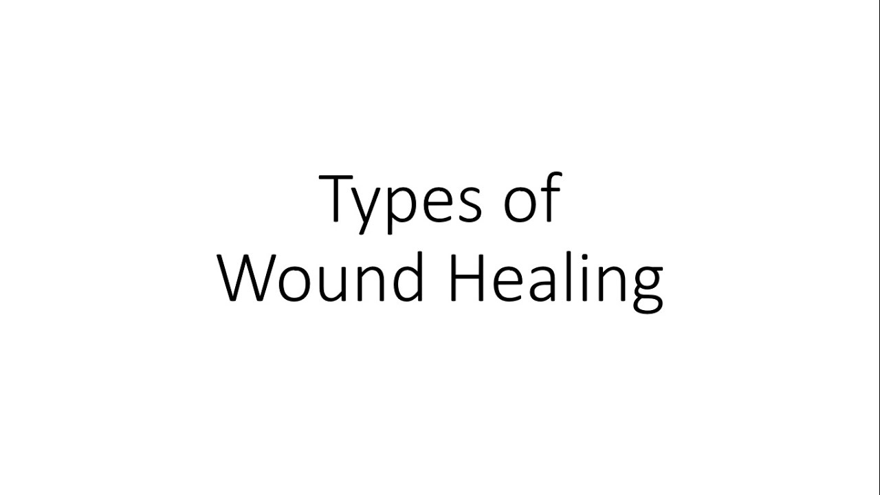 Download Types of Wound Healing - For Medical Students