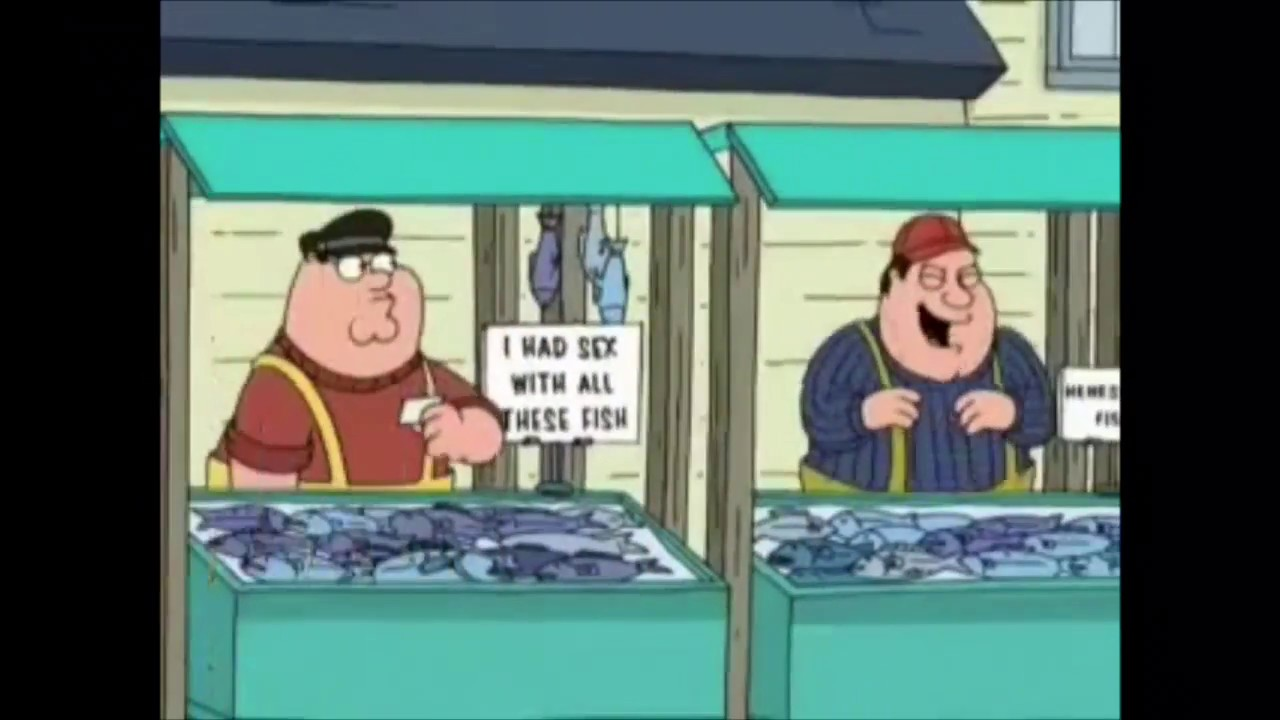 Funny Peter Has Sex With Fish - Family Guy - Youtube-7769