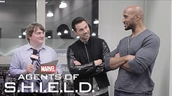 Stump S.H.I.E.L.D. - Brett Dalton and Henry Simmons