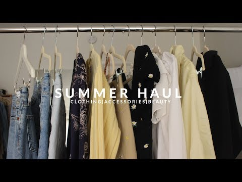 Summer 2018 Clothing, Beauty, & Accessories Haul | JULIA SUH