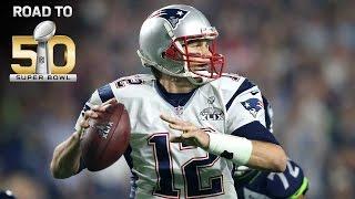 Road to Super Bowl 50: Patriots