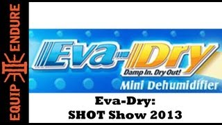 Eva-dry Portable Dehumidifiers Interview Shot Show 2013