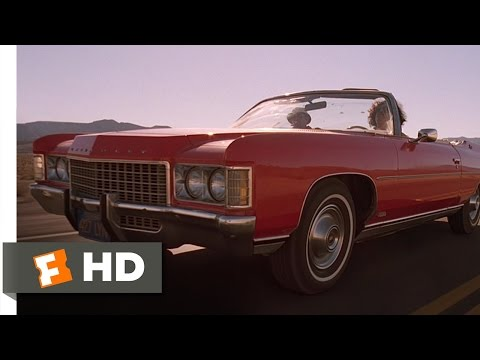 Somewhere Around Barstow  Fear and Loathing in Las Vegas 110 Movie CLIP 1998 HD
