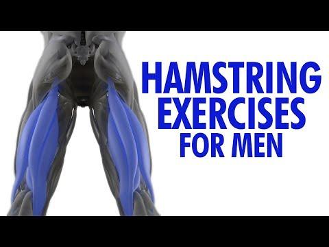 TOP 4 Hamstring Exercises for Men (Stronger Leg Biceps!)