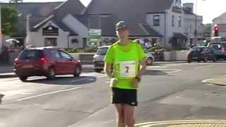 Manx Telecom Parish Walk video 5 - leader in Ramsey