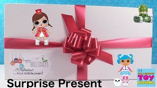 LOL Surprise Present MGA Lalaloopsy Num Noms Little Green Men Toy Review Unboxing | PSToyReviews