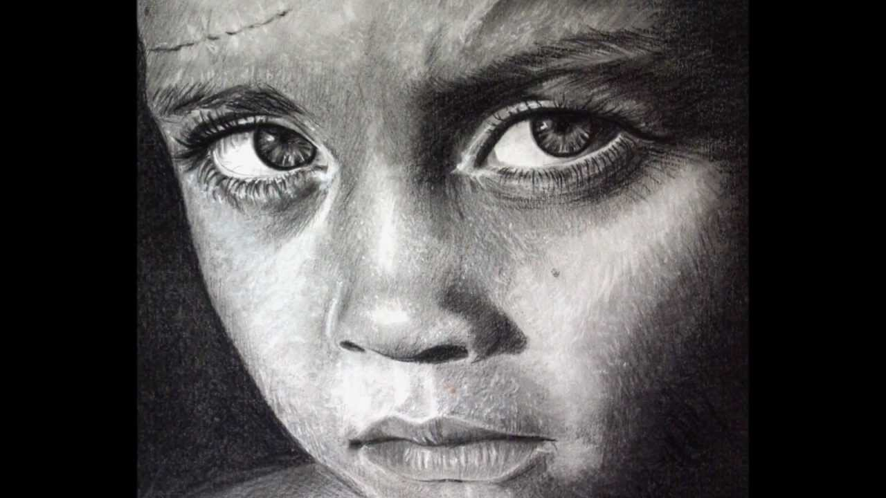 Realistic pencil drawing amazing portrait art zeichnen asia kierszka hd