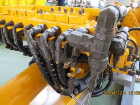 FAT TEST Racking Guide Arm for Topside Rig