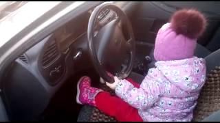 Девочка за рулём дискотека авария