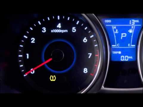 Hyundai i30 TPMS reset