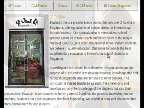 IGCSE tutor