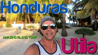 Backpacking Honduras - Utila, Bay Islands - Tour
