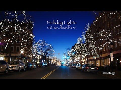 Enchanting Holiday Lights – Old Town, Alexandria, VA