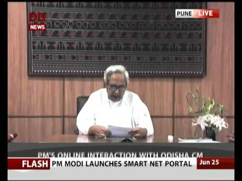 Odisha CM Naveen Patnaik addresses Smart City Project launch in Pune