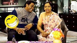 पीने के बाद ही तुम सूंदर दिखती हो - Husband & Wife Comedy | Hindi Latest Comedy Jokes