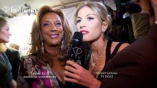 Denise Rich Interview at amfAR Gala 2012 Hosted by Hofit Golan | FashionTV