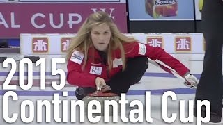 Jones vs. Sigfridsson - 2015 World Financial Group Continental Cup of Curling (Draw 4)