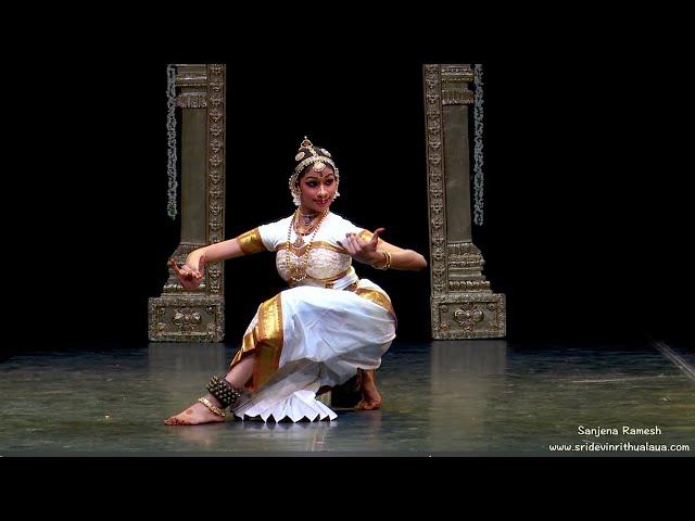 Sharada Kouthuvam by Sanjena Ramesh - Sridevi Nrithyalaya - Bharathanatyam Dance