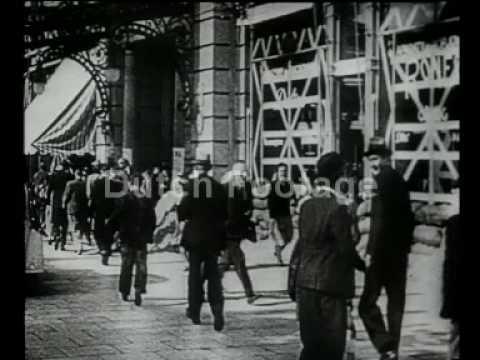 Bombers bombard Rotterdam