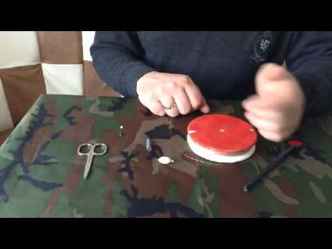 Оснащение кружка для ловли щуки. Часть 1 - YouTube