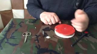 Оснащение кружка для ловли щуки. Часть 1