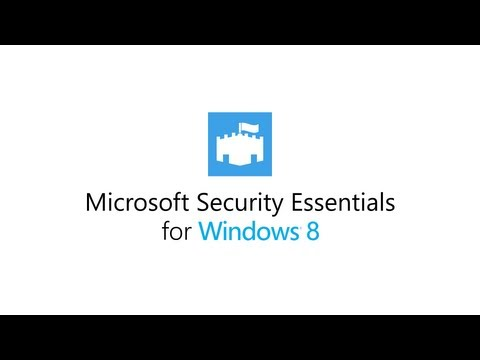 Microsoft Security Essentials 4.8 For Windows 8 / 8.1 / 10