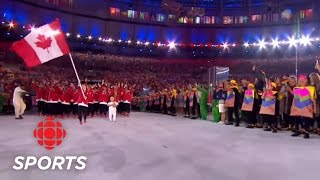 Team Canada's Entrance at the Opening Ceremony | Rio 2016 | CBC Sports