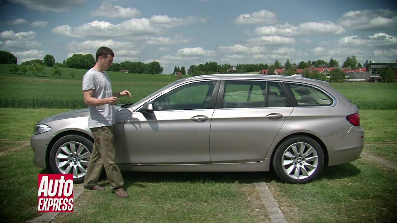 Bmw 5 Series Touring Video Review Auto Express Youtube