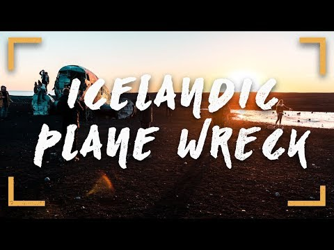 DO YOU HAVE SOME CHANGE? | EPIC Icelandic Plane Wreck!