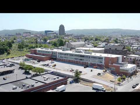 New Allentown Elementary School - Drone Construction Progress May 2020
