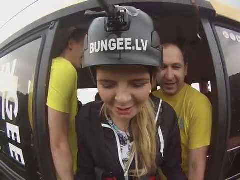 Bungee Jump. Sigulda. 19.06.14
