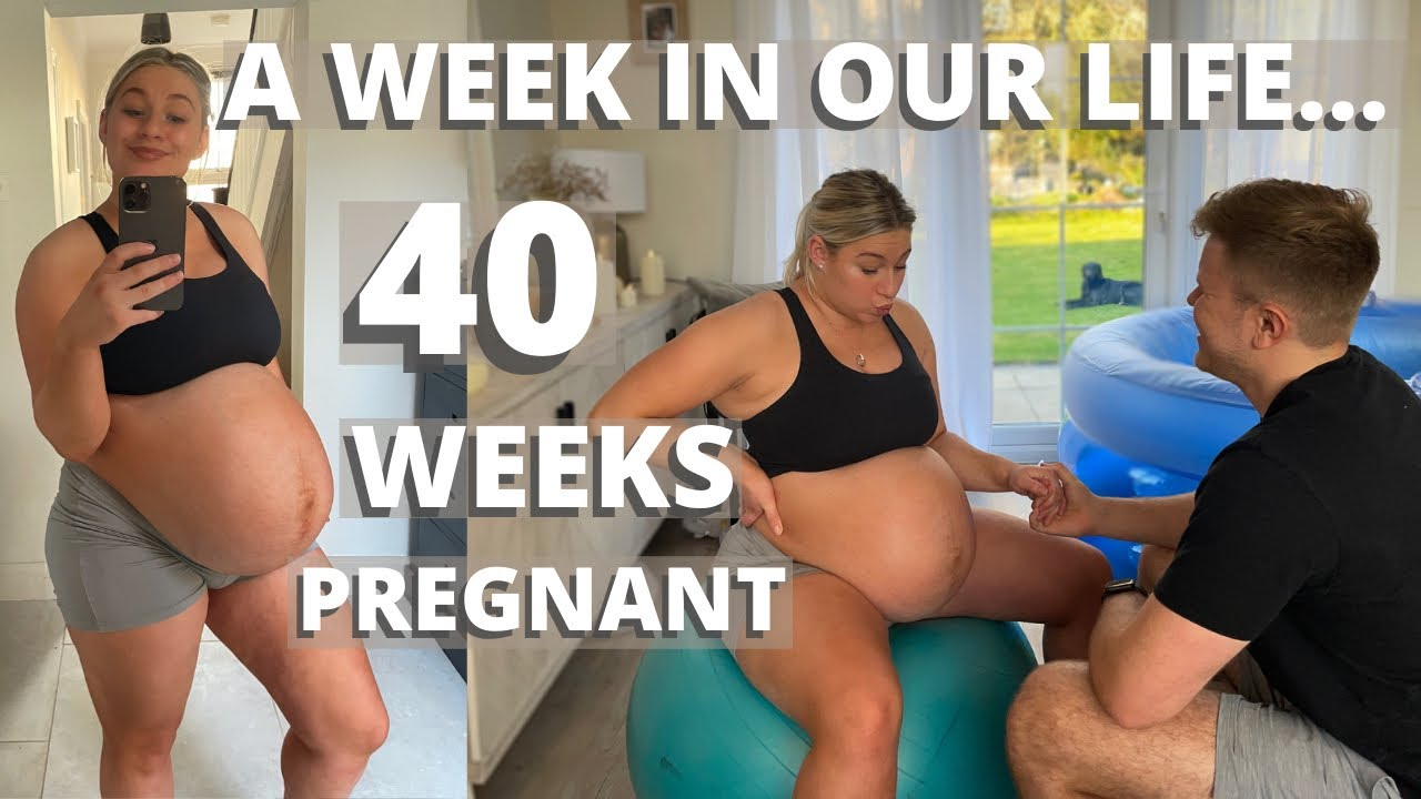 Download 40 WEEKS PREGNANT WEEK IN OUR LIFE   GOING INTO LABOUR   James and Carys