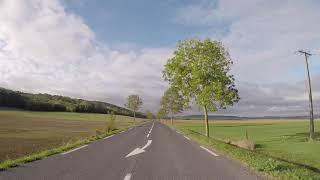 France  Road to Lunéville, Gopro / France Pays du Lunévillois Route vers Lunéville, Gopro