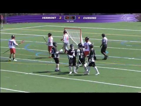 Cushing Academy - Varsity Boys Lacrosse vs. Vermont Academy