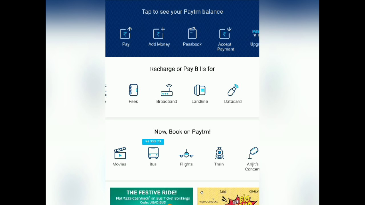 Paytm Landline Bill Payment-How To do Online Telephone Payments