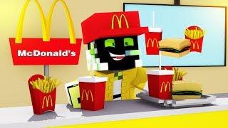 MEIN NEUER JOB bei McDonalds! - Minecraft [Deutsch/HD]