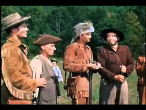 Davy Crockett in a shooting competition