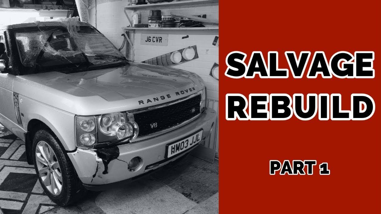 First Look | Salvage Rebuild of Range Rover Vogue | Part 1
